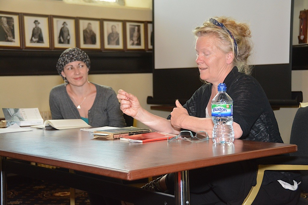 Writing with Causley: Jen McDerra, Karen Hayes (writer in residence)