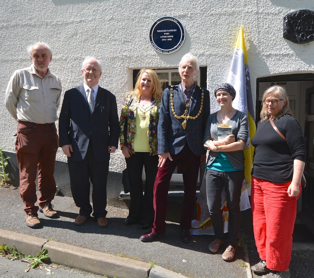 After the Cyprus Well plaque unveiling