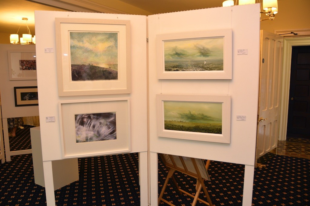 Gwynngalla landscape paintings in the Otho Peter Room