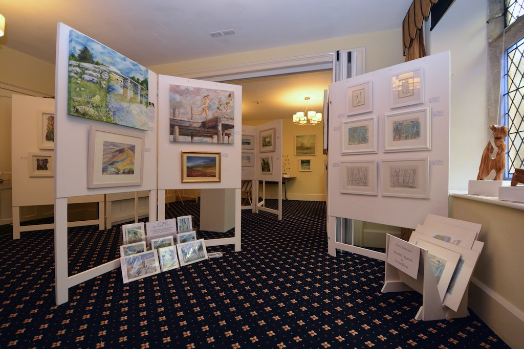 The Gwynngala exhibition at the Town Hall