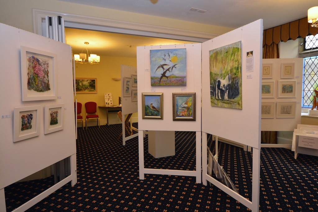 A panorama of prints, painting and more