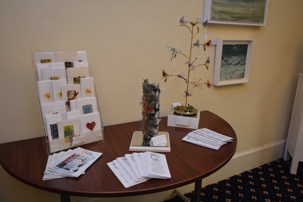 In the Otho Peter Room, Town Hall: Gwynngala exhibition