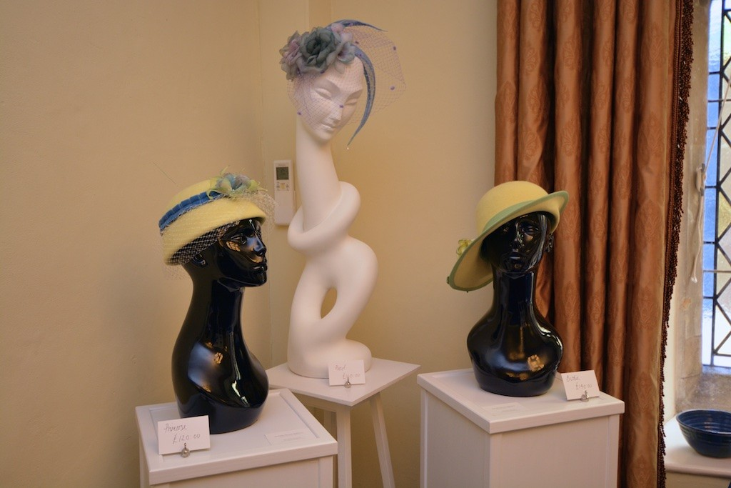 Millinery as part of the Gwynngala art exhibition for 2016