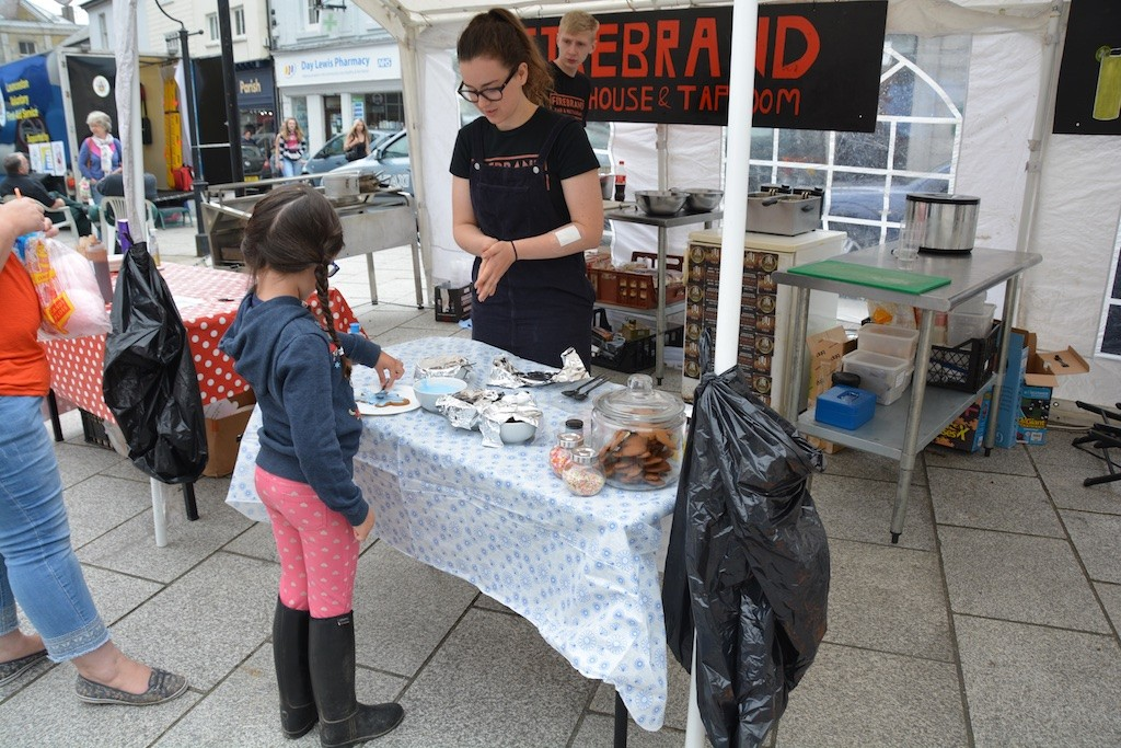 Some Firebrand treats for young visitors to the Square