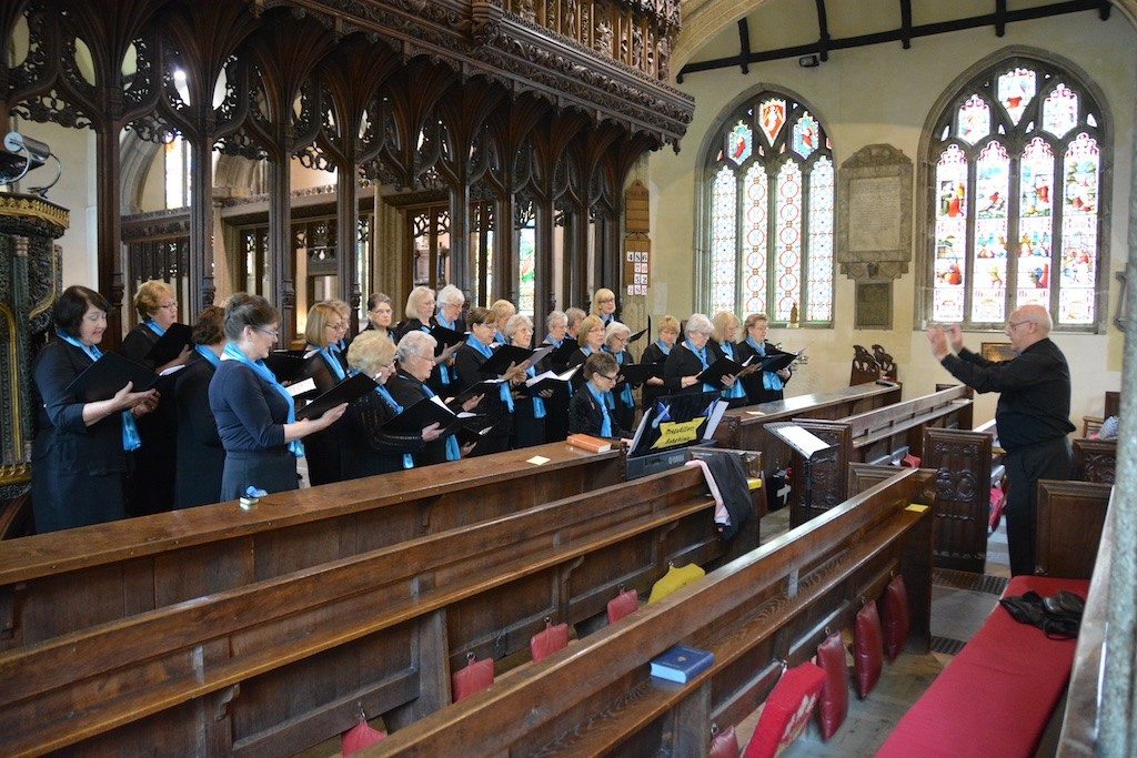 St. Mary's Church: a lunchtime concert from the 'Songbirds'