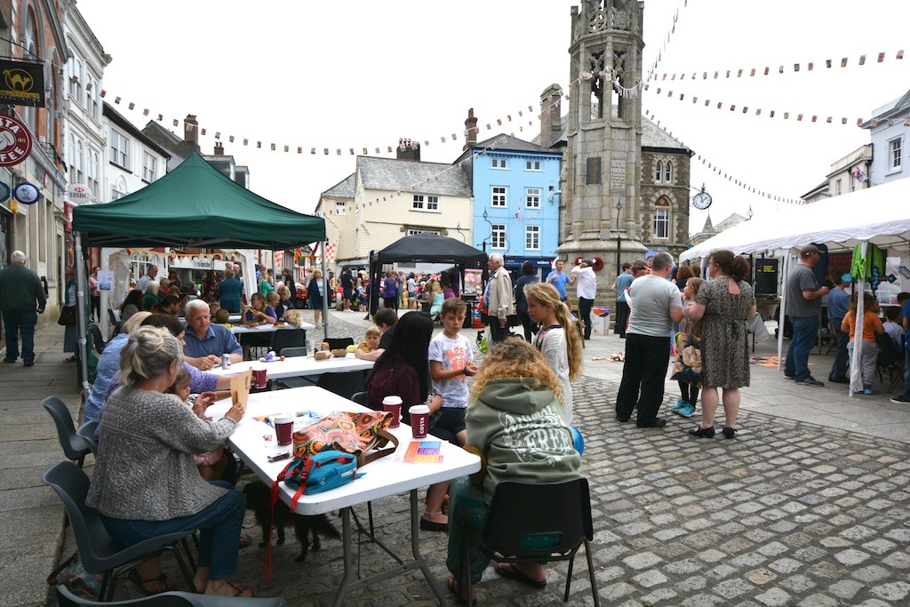 In the Town Square: Festival food and drink