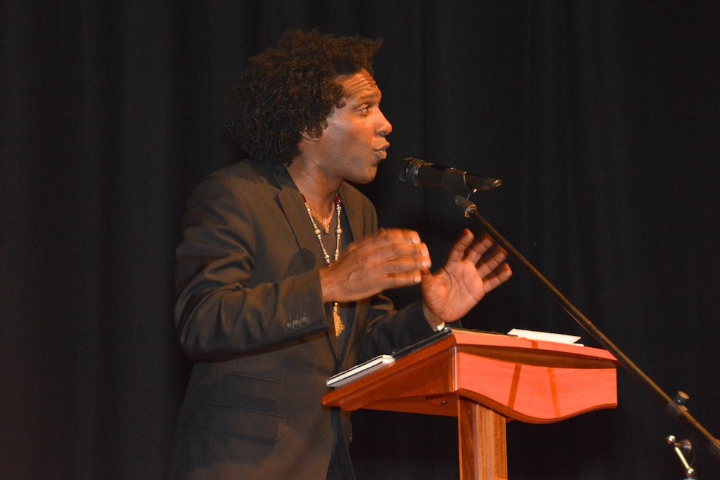 Lemn Sissay: Festival headline session, in the Town Hall