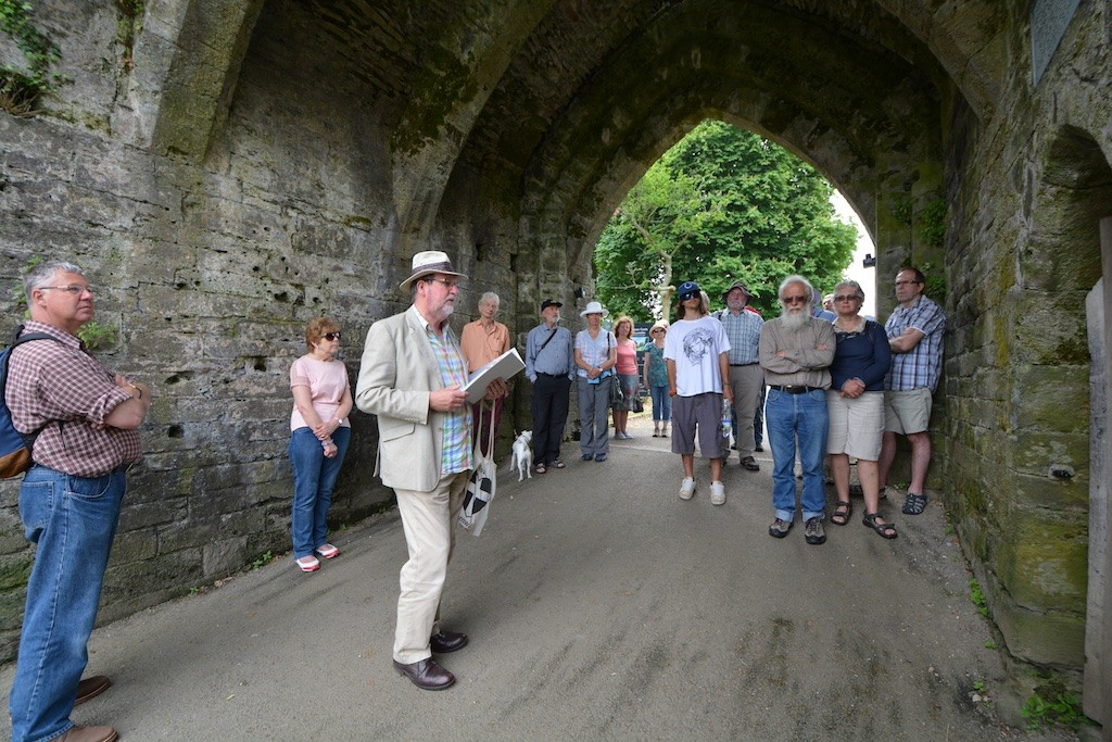 The Launceston Town Walk at the Castle's North Gatehouse