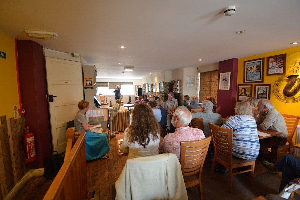 Sunday lunchtime talk by the writer David Constantine