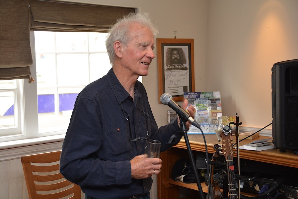 David Constantine speaks at No. 8 Westgate