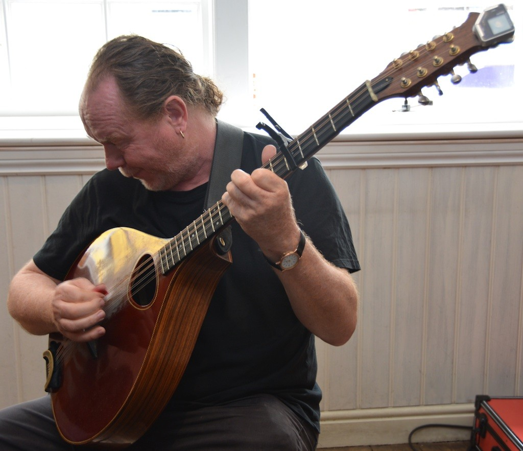 Concentration, melody and rhythm from Neil Davy