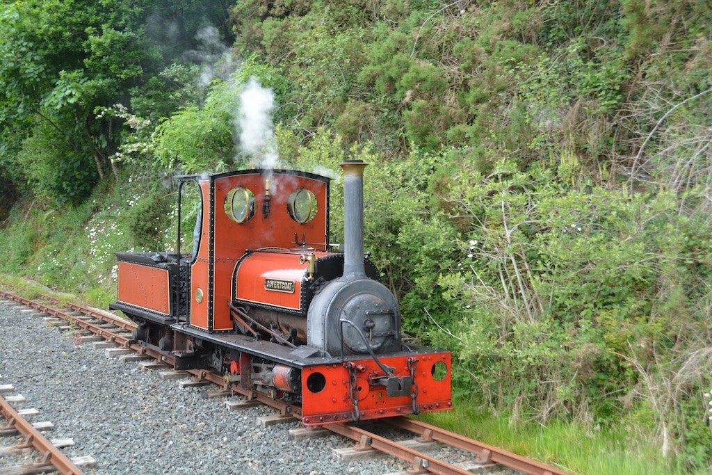 Steaming on a Sunday morning, at the Station