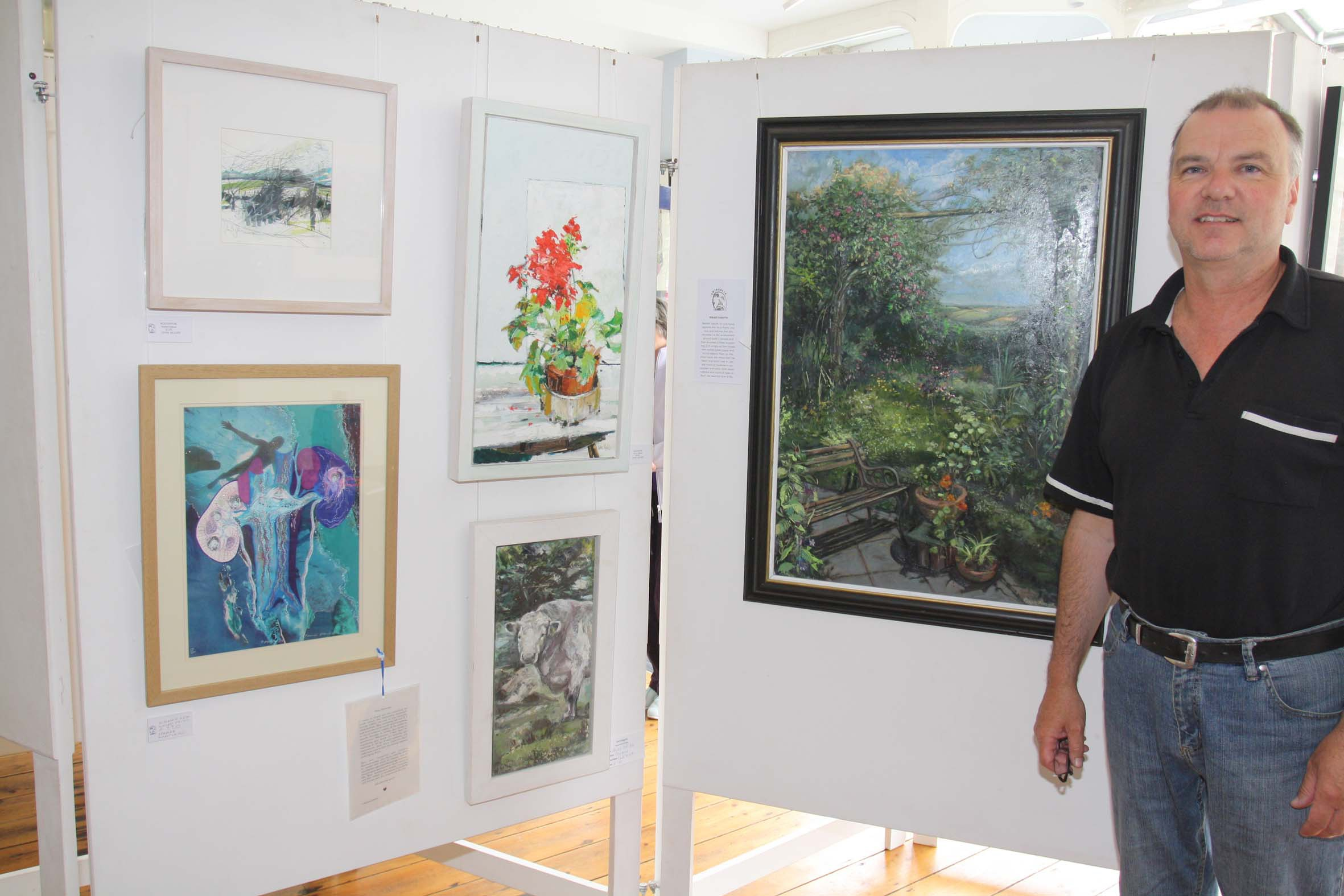 Charles Causley Festival -Art Exhibition